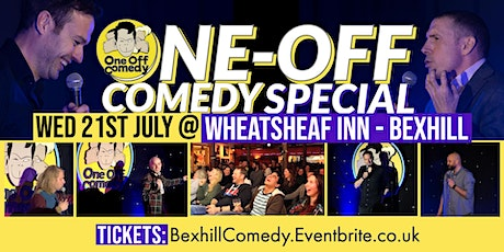 One Off Comedy Special at Wheatsheaf Inn - Bexhill! tickets