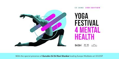 Europe Meditates @ Yoga Festival 4 Mental Health tickets