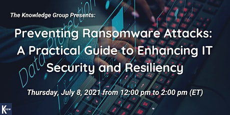 Preventing Ransomware Attacks: A Practical Guide to Enhancing IT Security tickets
