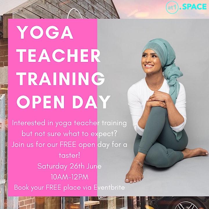 Yoga Teacher Training FREE Open Day image