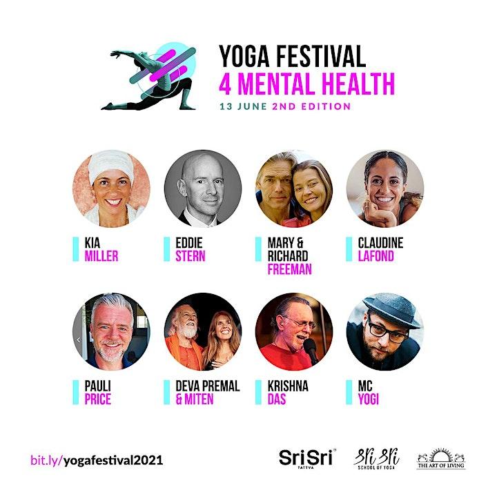 Europe Meditates @ Yoga Festival 4 Mental Health image