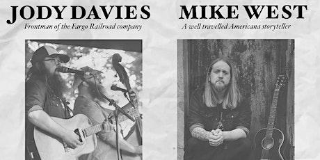 Jody Davies // Mike West at The Underground, Bradford tickets