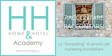 """Webinar gratuito: """"Lo storytelling al servizio del marketing immobiliare."""" biglietti"""