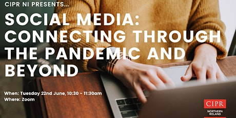 Social media: Connecting through the pandemic and beyond tickets