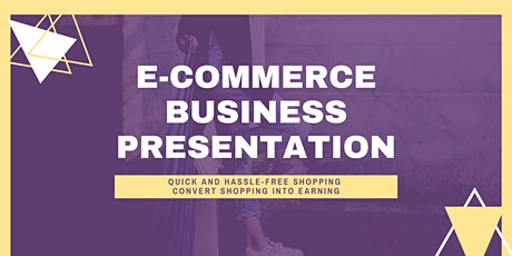 E Commerce - How To Start An Online Business In A Global Marketplace? tickets
