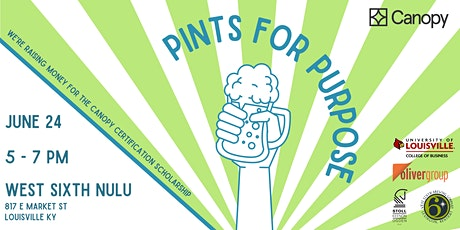 Pints for Purpose tickets