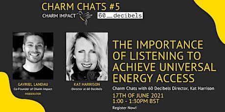 Charm Impact   Webinar - Charm Chats #5 with Kat Harrison tickets