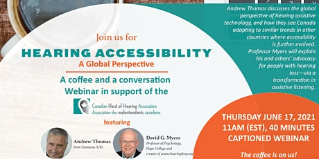 Hearing Accessibility – A Global Perspective Webinar tickets