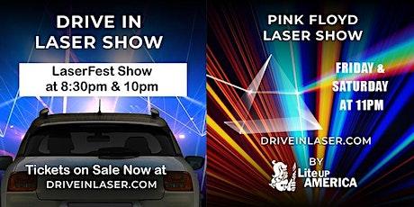 Drive-In Laser Show - Club 52 Melbourne Greyhound Park tickets