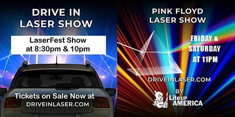 Drive-In Laser Show - Clay County Fairgrounds tickets