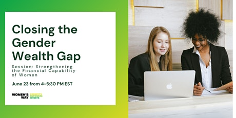 Closing the Gender Wealth Gap: Financial Capability of Women tickets