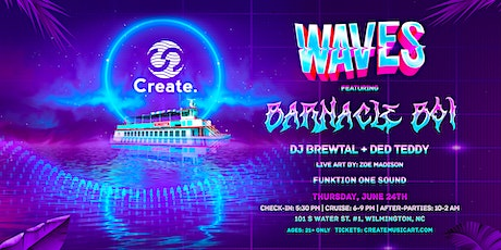 WAVES: A Sunset Concert Cruise | Ft. barnacle boi w/ DJ Brewtal + Ded Teddy tickets