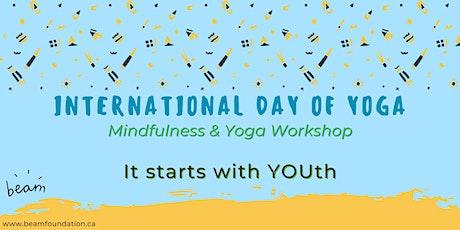 International Day of Yoga - BEAM Mindfulness & Yoga Workshop tickets