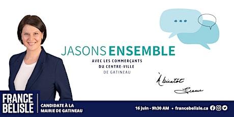 Jasons ensemble! Avec les commerçants du centre-ville de Gatineau! billets