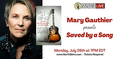 """Northshire Live: Mary Gauthier """"Saved by a Song"""" tickets"""