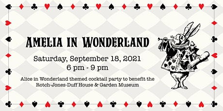 Amelia in Wonderland Cocktail Party tickets