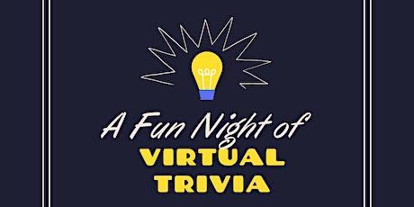Virtual Trivia Night Fundraiser tickets