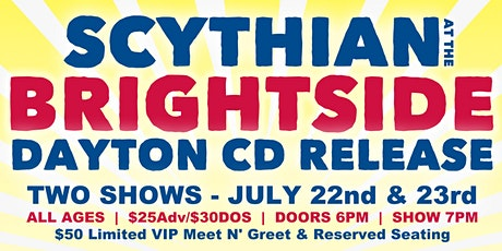 Scythian at the Brightside - Dayton CD Release w/ Repeating Arms - SHOW 1 tickets