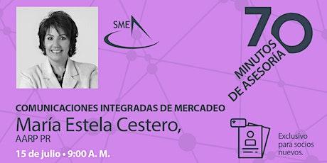 70 minutos de Asesoría con Marie Estela Cestero, AARP PR boletos
