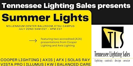 Summer Lights- Tennessee Lighting Sales Summer Showcase tickets