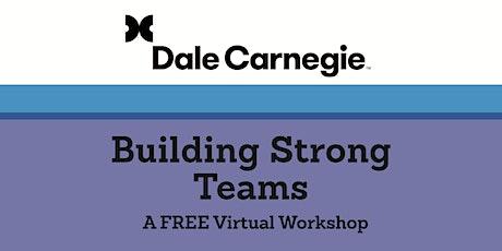 Building Strong Teams ingressos