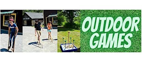 Outdoor Games! tickets