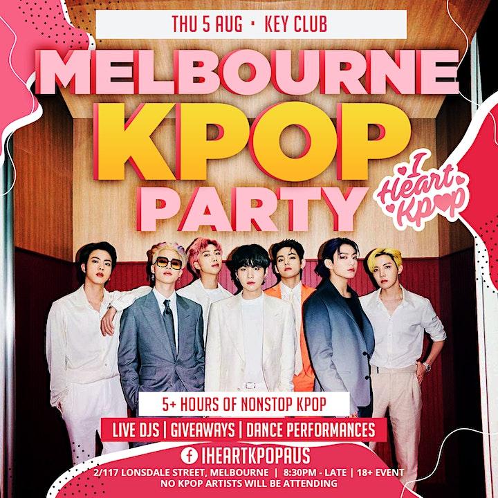 MELBOURNE KPOP PARTY | THE COMEBACK | SUN 23 JAN image