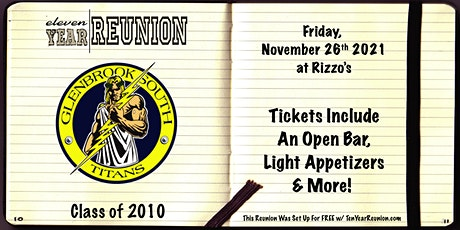 Glenbrook South Class of 2010: Eleven Year Reunion! tickets