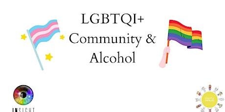 June Webinar: LGBTQI+ Community & Alcohol tickets
