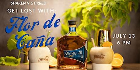 Shaken N' Stirred: Flor de Caña Rum tickets