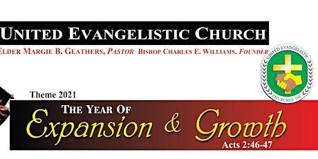 United Evangelistic Church - Morning Service Registration tickets