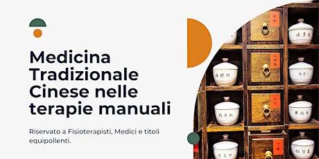Medicina Tradizionale Cinese nelle terapie manuali biglietti