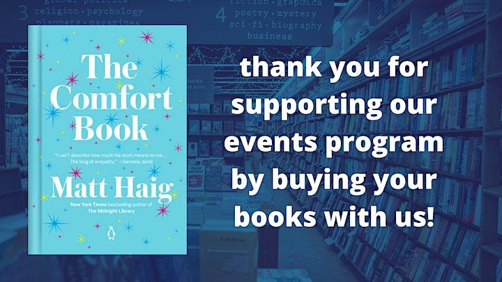 Matt Haig with Mari Andrew: The Comfort Book image