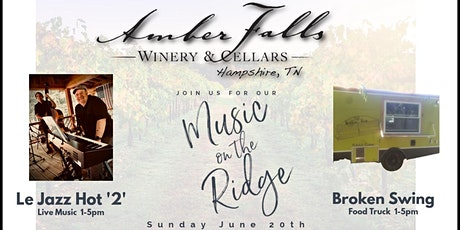 Music on the Ridge featuring Le Jazz Hot '2' tickets