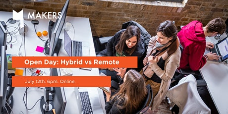 Open Day: Hybrid vs Remote course options tickets