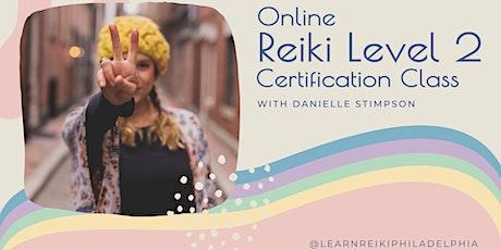 Reiki 2 Class - Online Weekend Intensive tickets