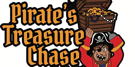2021 Pirate's Treasure Chase 5K 10K 13.1 26.2-Participate from Home.Save $5 tickets