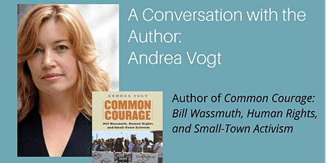 Conversation with the Author: Andrea Vogt, Author of Common Courage tickets