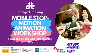 Youth Mobile Stop Motion Animation Workshop tickets