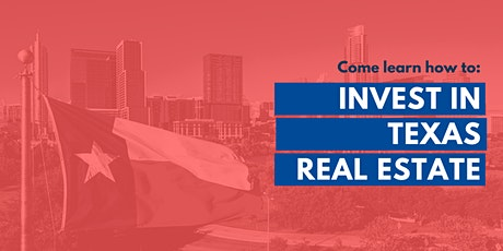 Invest in TEXAS Real Estate with a community of Investors, Orientation tickets