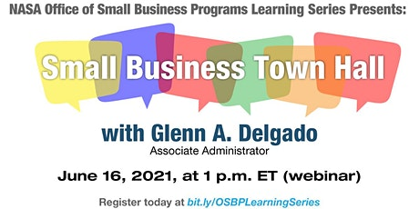 OSBP Learning Series: Small Business Town Hall tickets