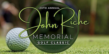 20th Annual John Riche Memorial Golf Classic tickets