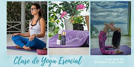 Clase de Yoga Esencial boletos