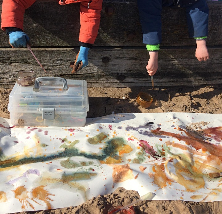 Art Buds in Muirhouse Summer Camp for 6-10s (All Day group) image