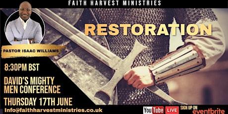Restoration: David's Mighty Men Conference tickets