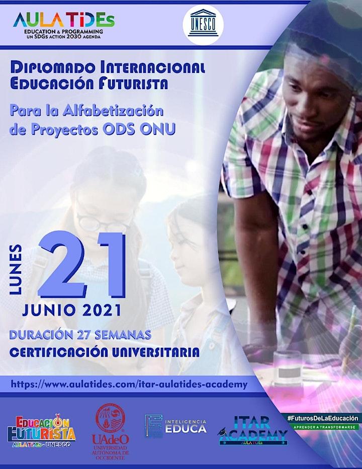 Imagen de AULA TIDEs -UNESCO DIPLOMADO EDUCACIÓN FUTURISTA -ALFABETIZACIÓN ODS ONU