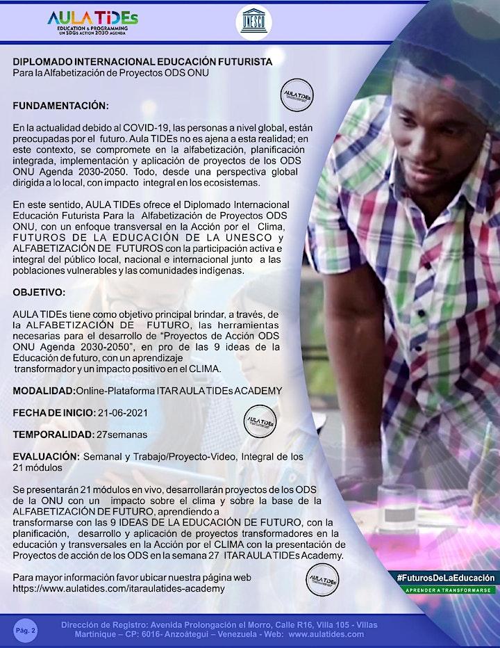 Imagen de SEMANA VI ODS #15 -AULA TIDEs -UNESCO DIPLOMADO. ALFABETIZACIÓN ODS