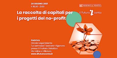 La raccolta di capitali per i progetti del no-profit biglietti