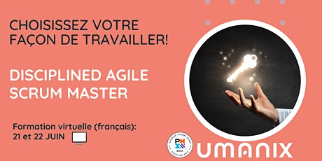 DASM -Disciplined Agile Scrum Master - en français tickets