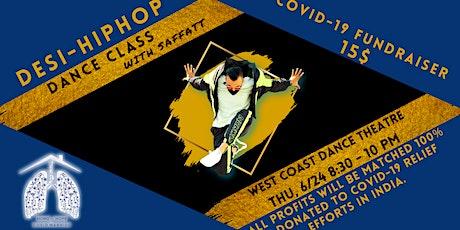 Desi Hip-Hop Dance Workshop w/  Saffatt (COVID-19 Fundraiser for India) tickets